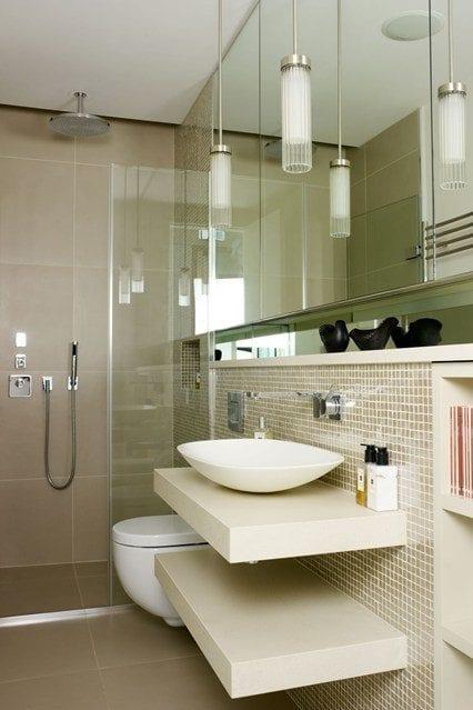 Идеи за дизайн на малка баня