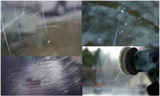 Как да премахнем драскотини върху стъкло