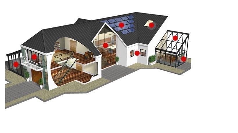 Приложение на стъклото в нашите домове – дограмa, врати, вътрешни прегради и капандури