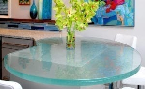 Кухня от стъкло 2