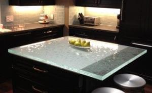 Кухня от стъкло 3