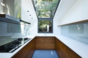 Кухня от стъкло 11