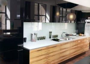 Кухня от стъкло 12