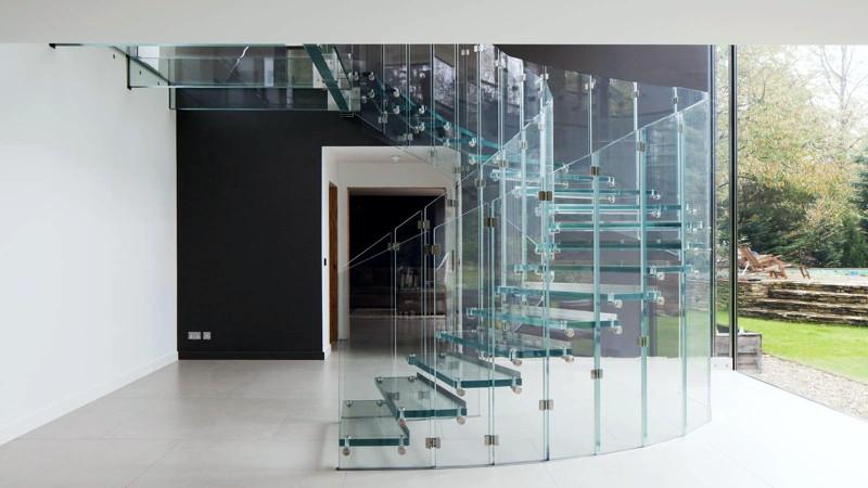 Стълби от стъкло – Стъклени стълбища с архитектурно стъкло