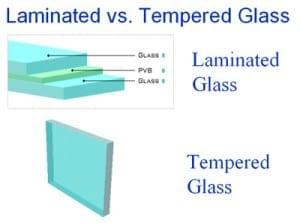 Разликата между закалено стъкло и триплекс
