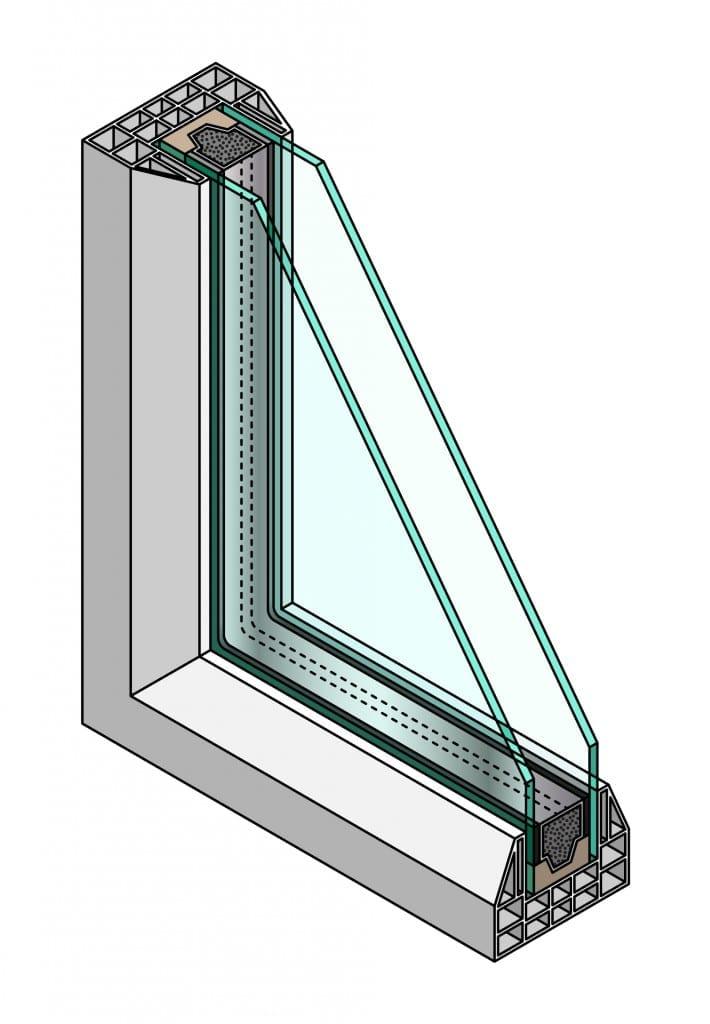 Какво представлява стъклопакета и какви са неговите компоненти