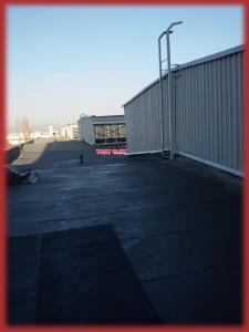 Стъкла на покрив депо метро