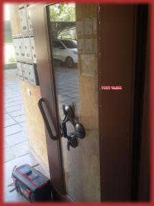Стъкло на входна врата